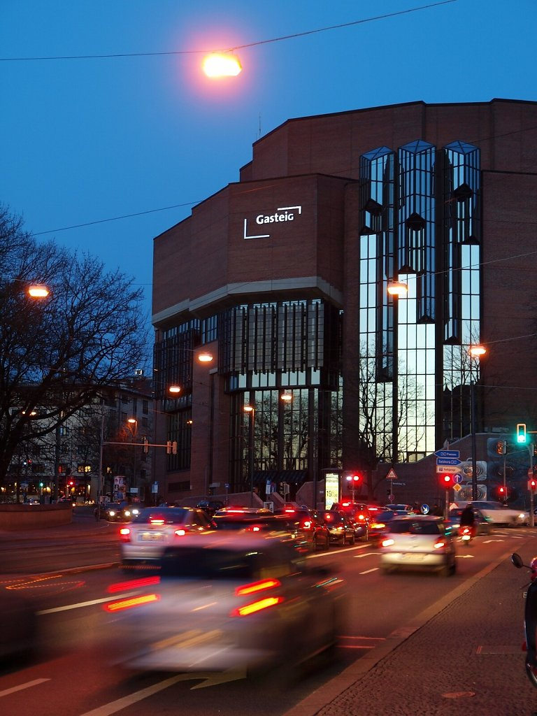 Gasteig in the Evening Light