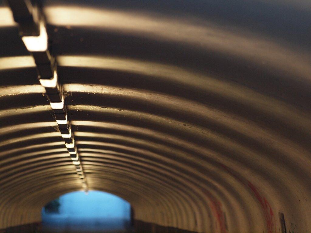 Tunnel at Ostbahnhof
